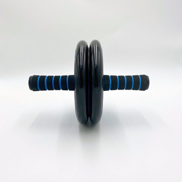 Double exercise wheel blue black 4 » Double Exercise Wheel (Blå/Sort)