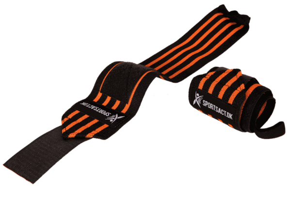 Wrist Wraps Yellow 1 p » Wrist Wraps - 1 sæt (Orange)