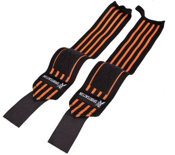 Wrist Wraps Yellow 2 p » Wrist Wraps - 1 sæt (Orange)